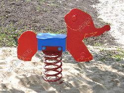 Rugós elefánt (UV álló HDPE figura)