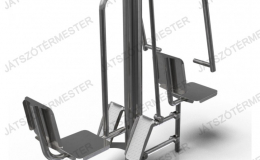 Leg press and pull down chair